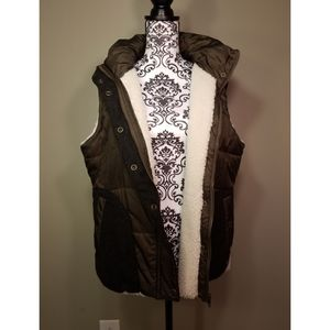EUC Carve Designs Fleece Lined Vest Size XL